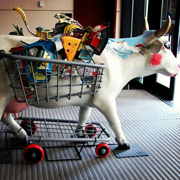 Shopping Cow