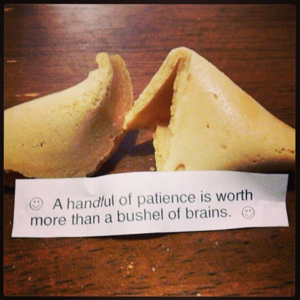 Confucius say... #Chinese #fortune