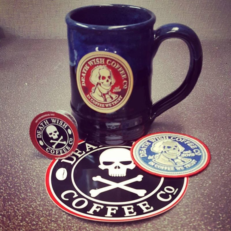 Just got my latest shipment from @deathwishcoffee! Can't wait to brew another cup