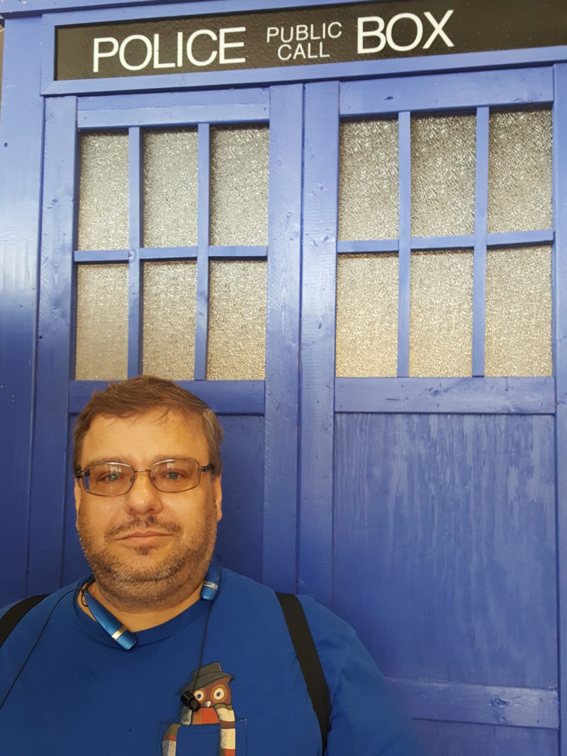 Me with Police Box