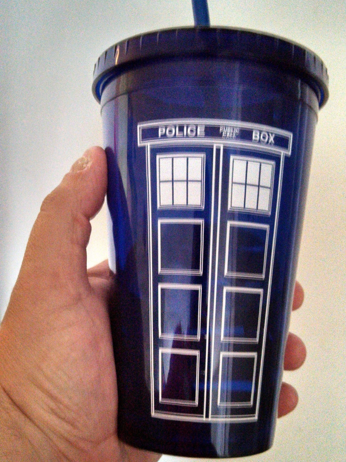Unfortunately, it's not bigger on the inside. #Whovians