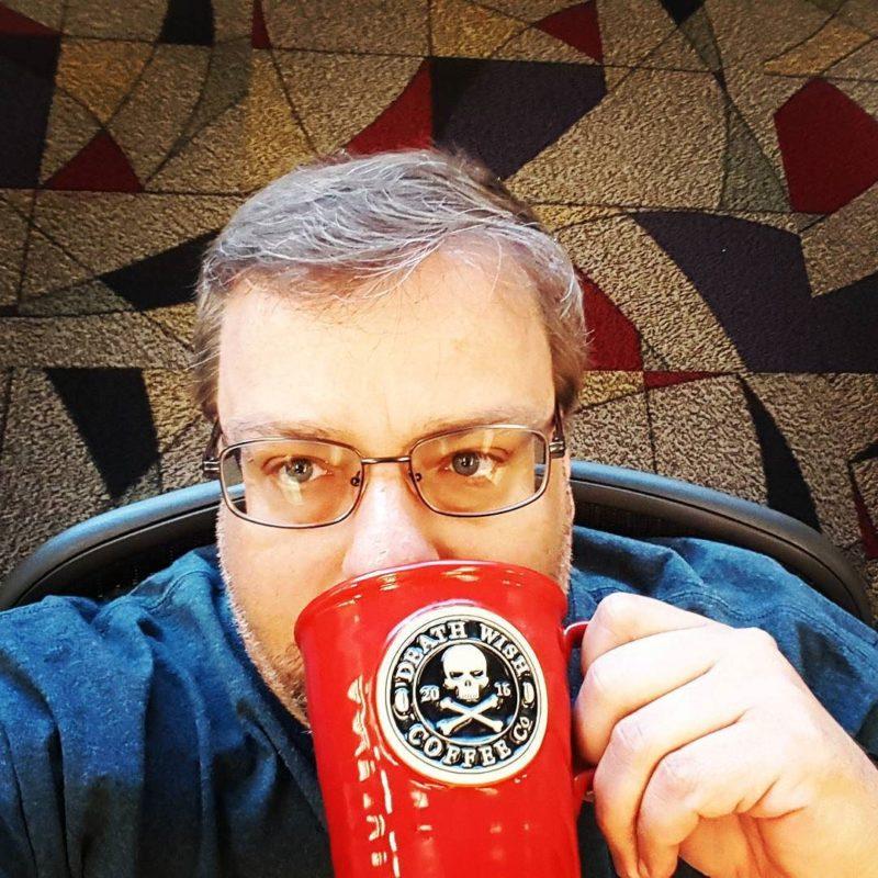 Drinking Death Wish Coffee